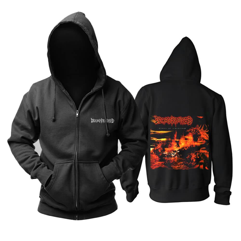 Decapitated Hooded Sweatshirts Poland Metal Music Band Hoodie