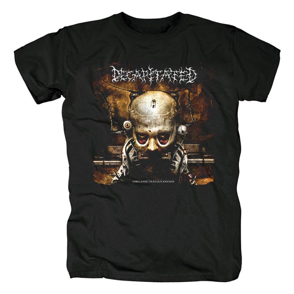 Decapitated Organic Hallucinosis Tee Shirts Poland Metal T-Shirt