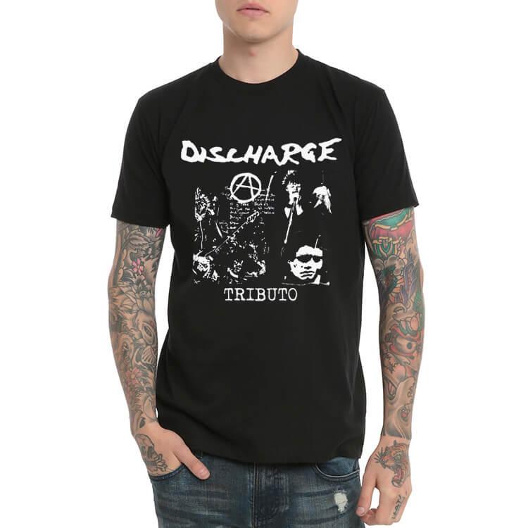 Discharge Old Heavy Metal Rock T-Shirt
