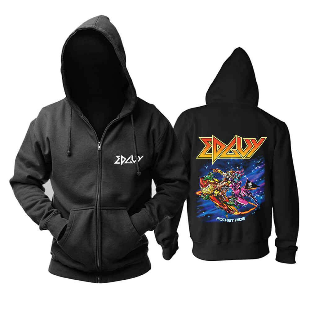 Edguy Rocket Ride Hoodie Metal Rock Band Sweat Shirt
