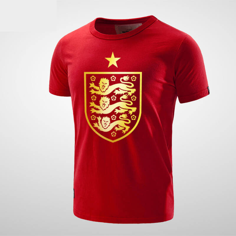 sale retailer d2f1c 730e4 England National Football Team Logo T shirt | Wishiny