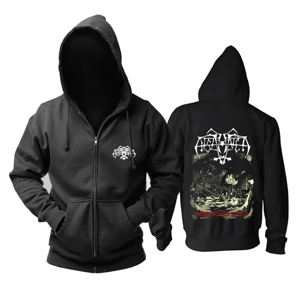 Enslaved Hordanes Land Hoodie Metal Music Sweatshirts