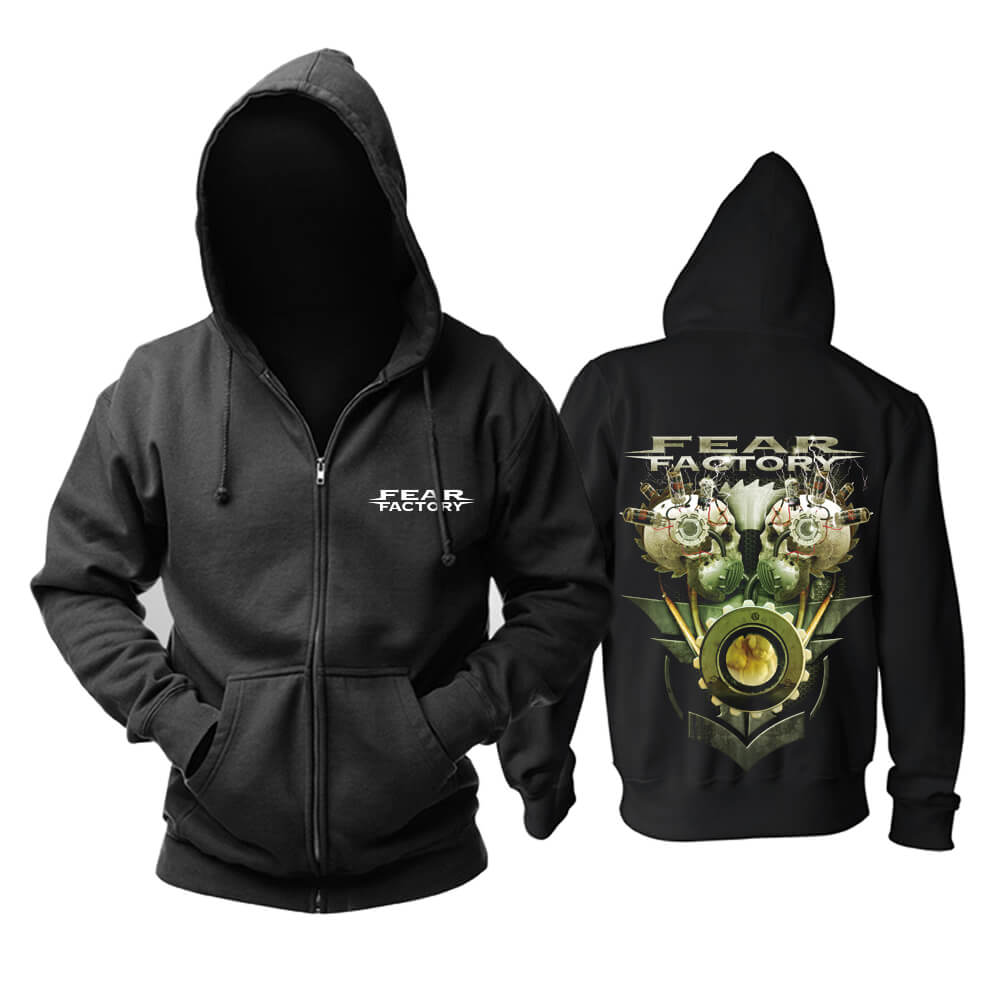 Fear Factory Hooded Sweatshirts Metal Punk Rock Hoodie