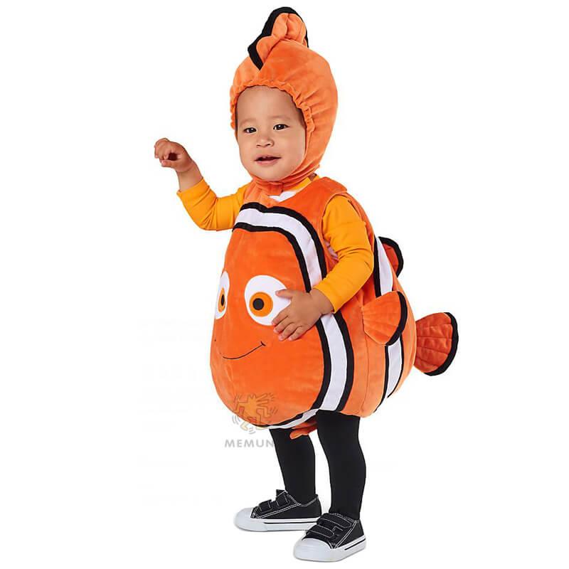 2d89ae1cc6c7f The Finding Nemo Cosplay Kids Clown Fish School Performance Clothing  Children Sc 1 St Wishiny