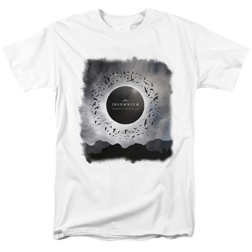 Finland Insomnium Shadows Of The Dying Sun T-Shirt Metal Graphic Tees