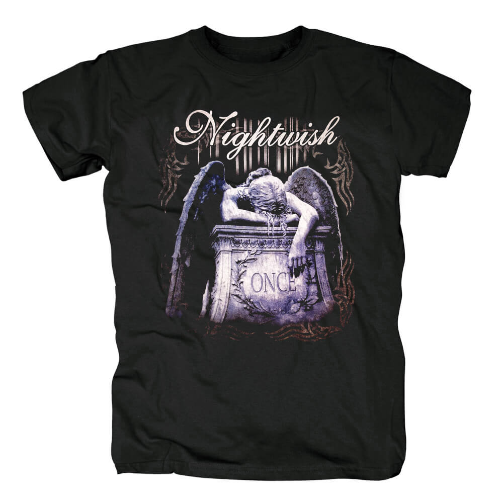 Finland Metal Graphic Tees Nightwish T-Shirt