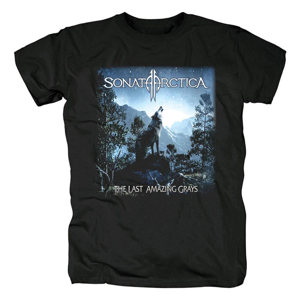 Finland Rock Band Tees Awesome Sonata Arctica T-Shirt