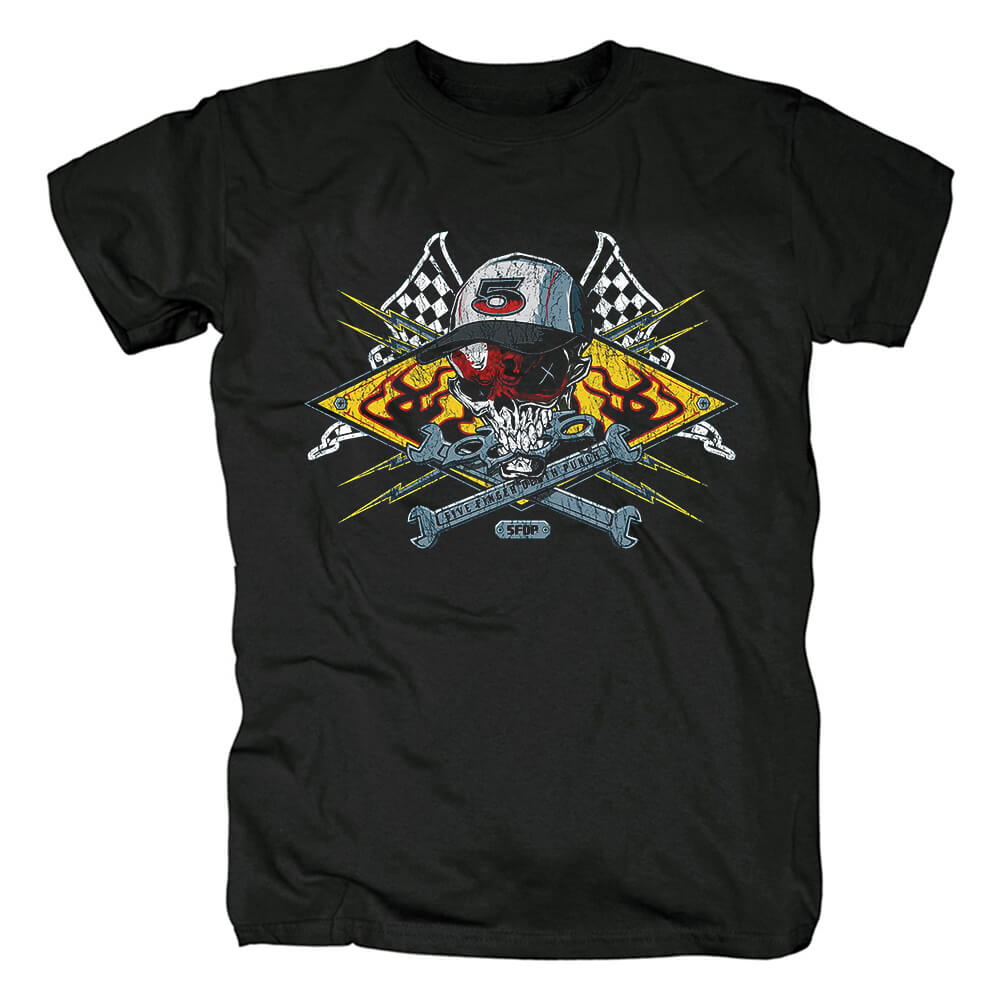 Five Finger Death Punch Band Tees California Hard Rock T-Shirt