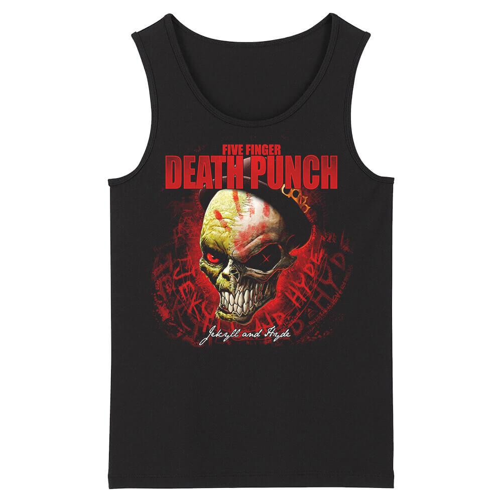 Five Finger Death Punch Sleeveless Tee Shirts California Metal Tank Tops