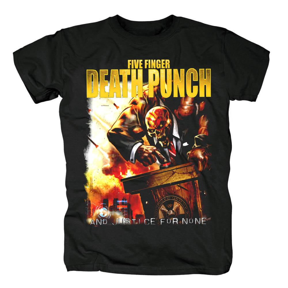 Five Finger Death Punch Tee Shirts California Hard Rock T-Shirt