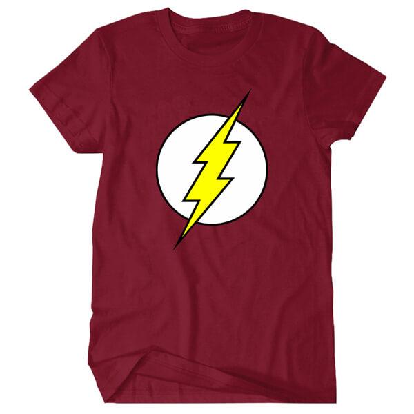The Flash Creative Tee Shirt Summer Printing Tshirt