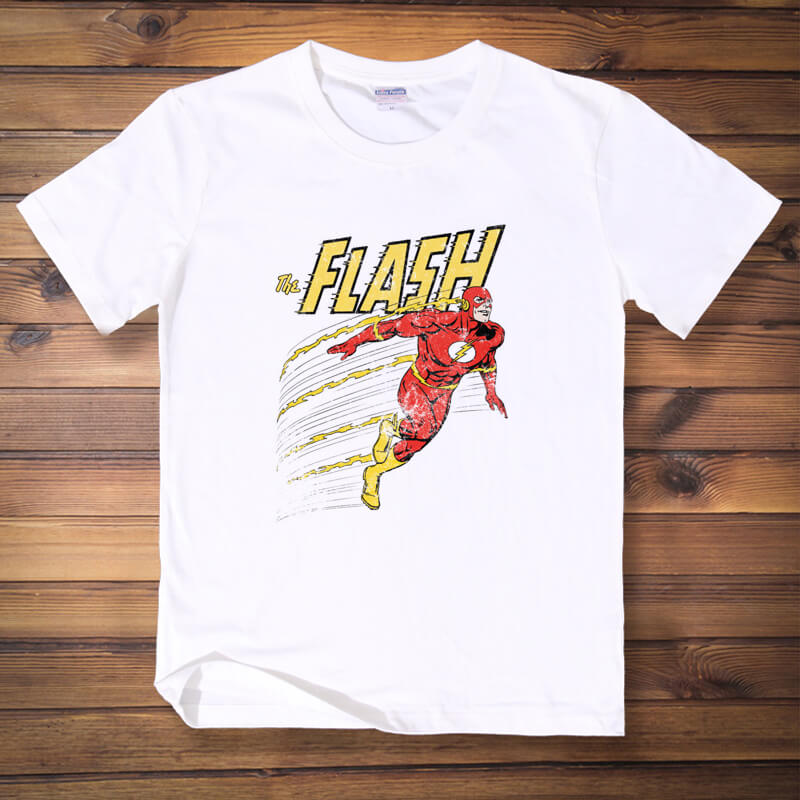 The Flash Grant Gustin TV Printing T Shirt