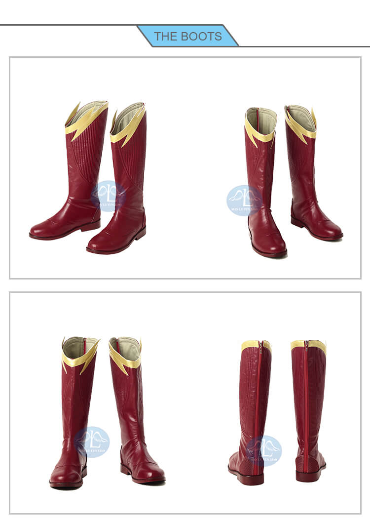 The Flash Season 4 Barry Allen Cosplay Costume