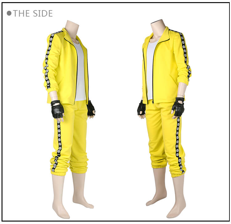 Game PUBG Cosplay Costume Men Outfit Halloween Costume