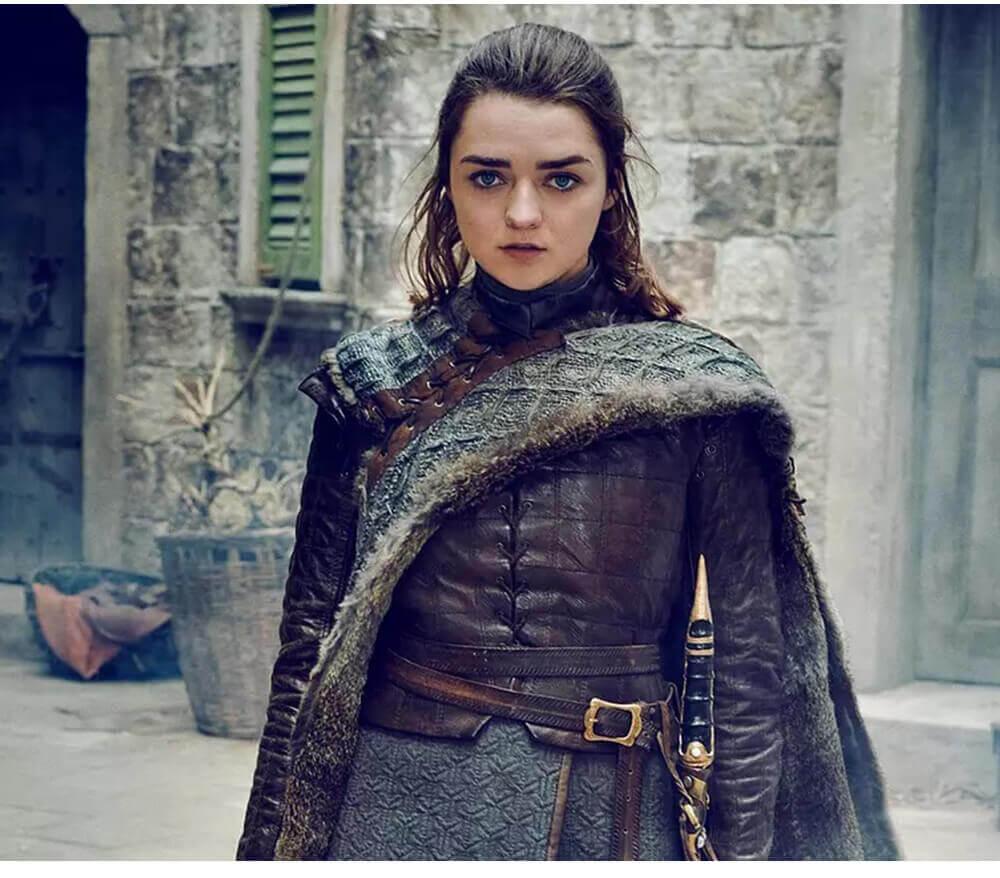 Game of Thrones Costume Melisandre Arya Stark Costume Cosplay