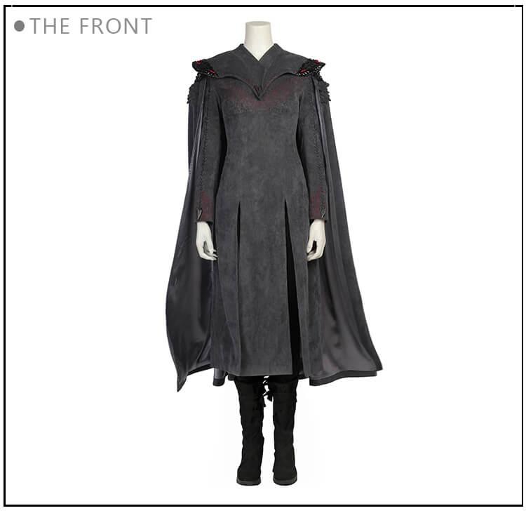 Game Of Thrones Daenerys Targaryen Khaleesi Cosplay Costume
