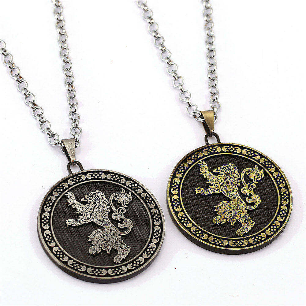Game of Thrones House Greyjoy Necklace