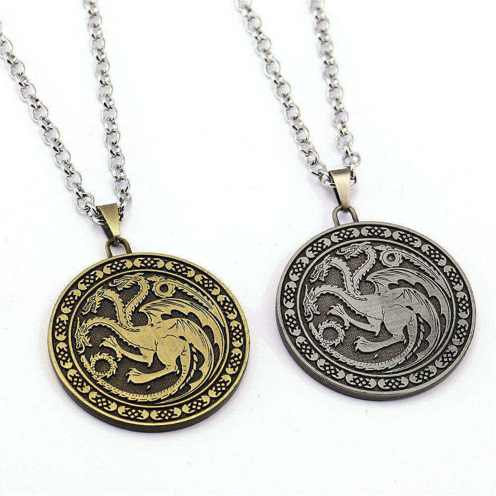 Game of Thrones House Targaryen Necklace