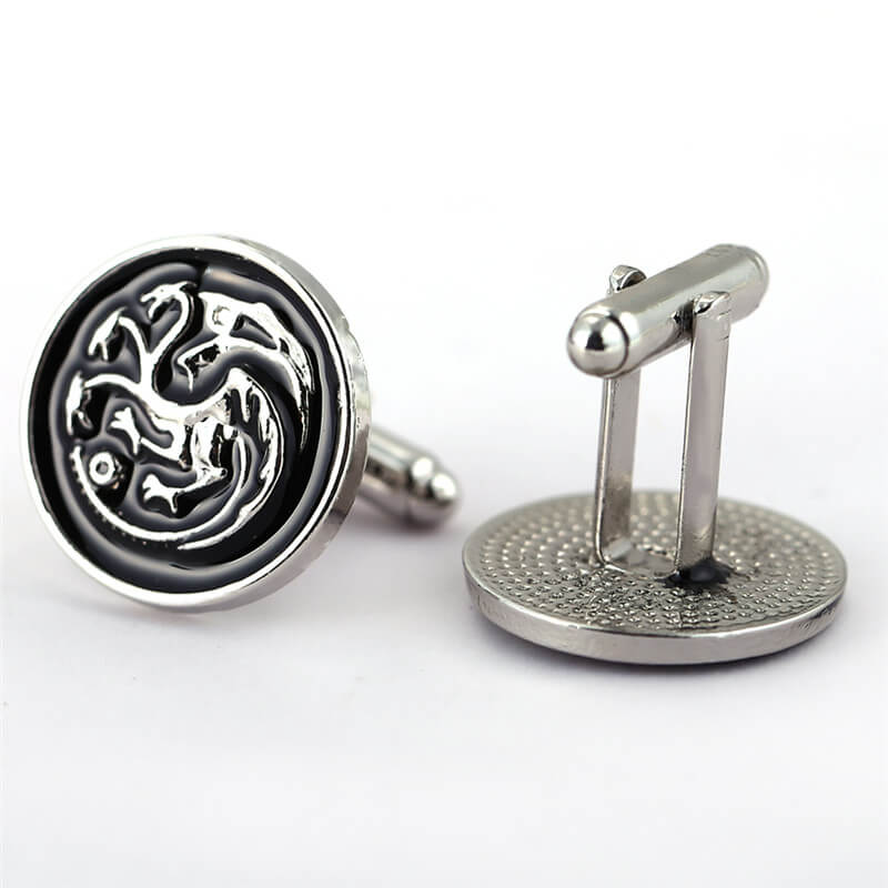 Game of Thrones House Targaryen Sigil Cufflinks