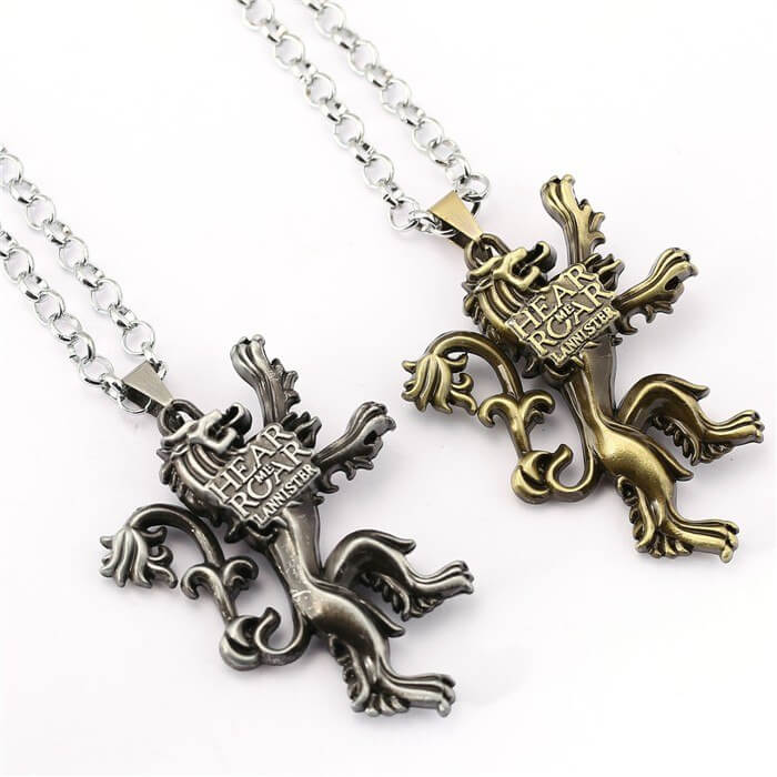 Game of Thrones Lannister Sigil Necklace