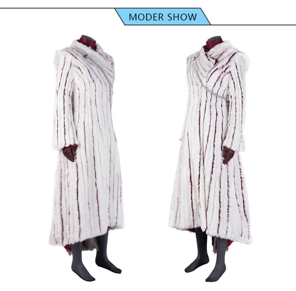 Game of Thrones Season 8 Daenerys Targaryen Cosplay Costume