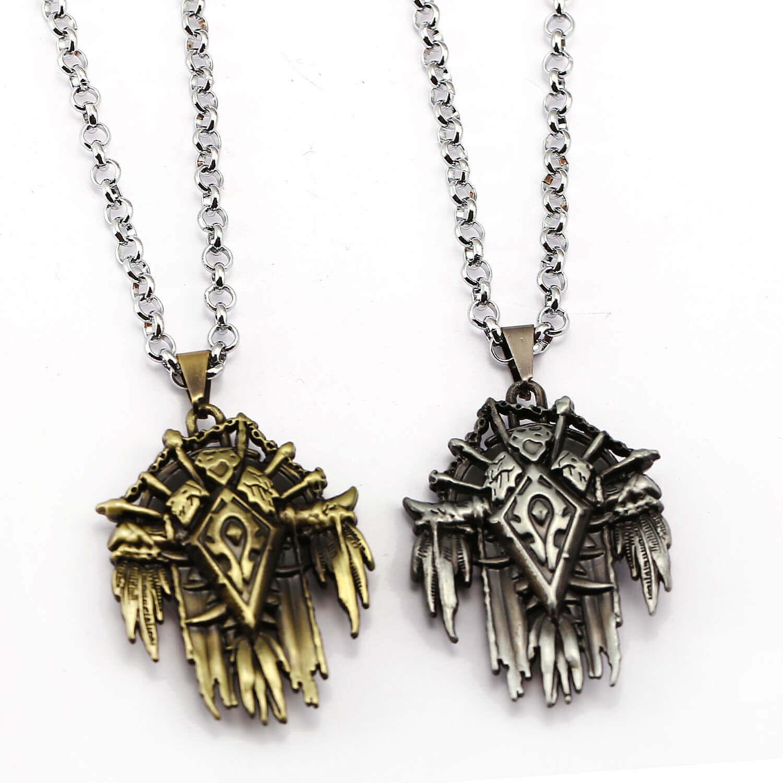 Game World of Warcraft Horde Logo Pendant Necklace