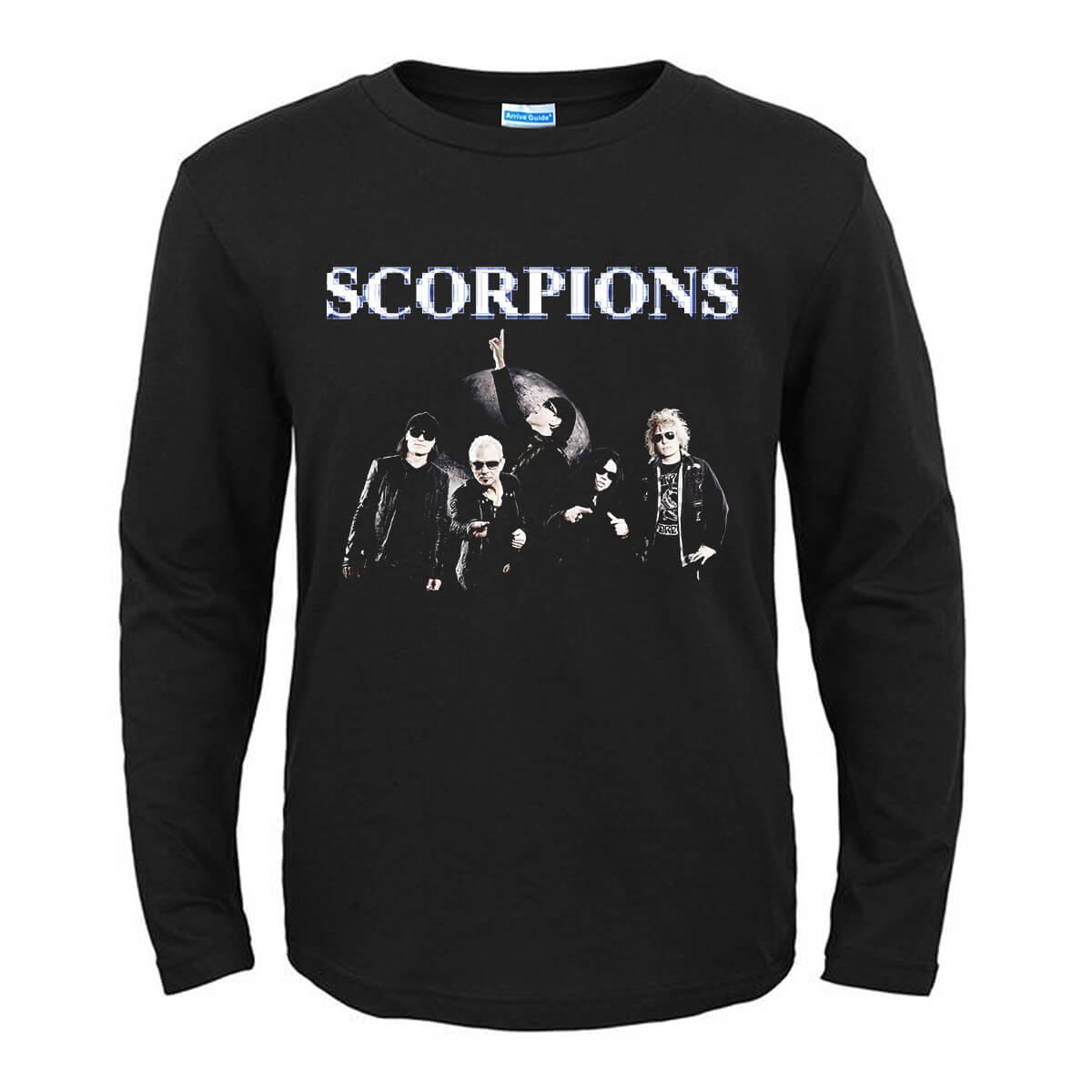 ドイツメタルロックバンドティースコーピオンズムーン壁紙tシャツ