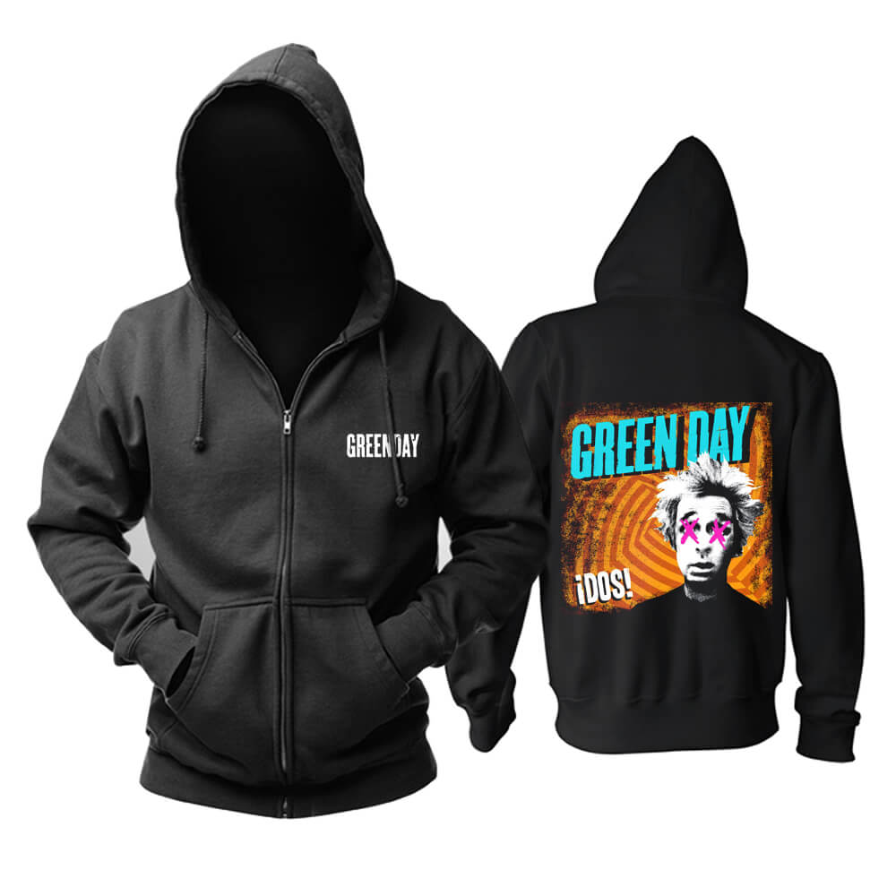 Green Day Hoody United States Punk Rock Band Hoodie