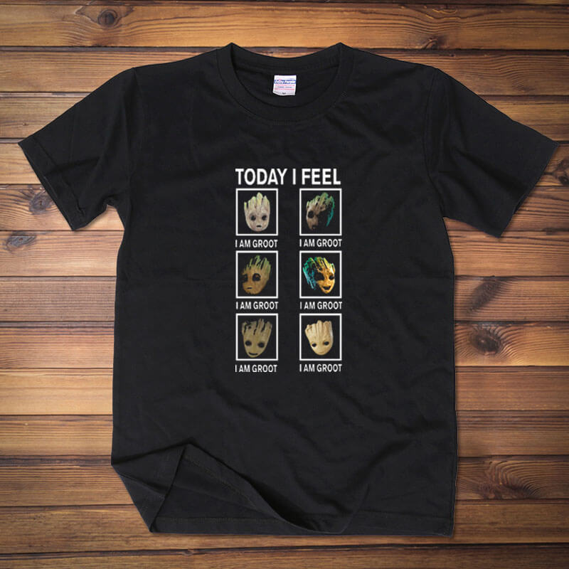 Groot  Today I Feel Tee Guardians Of The Galaxy 2 T Shirt