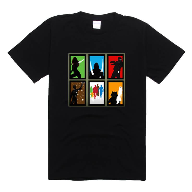 Guardians of the Galaxy 2 T-shirt Black Mens Tee