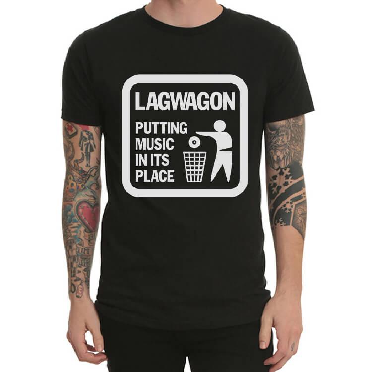 23899c20dbb3 Heavy Metal Lagwagon Band rocková tričká