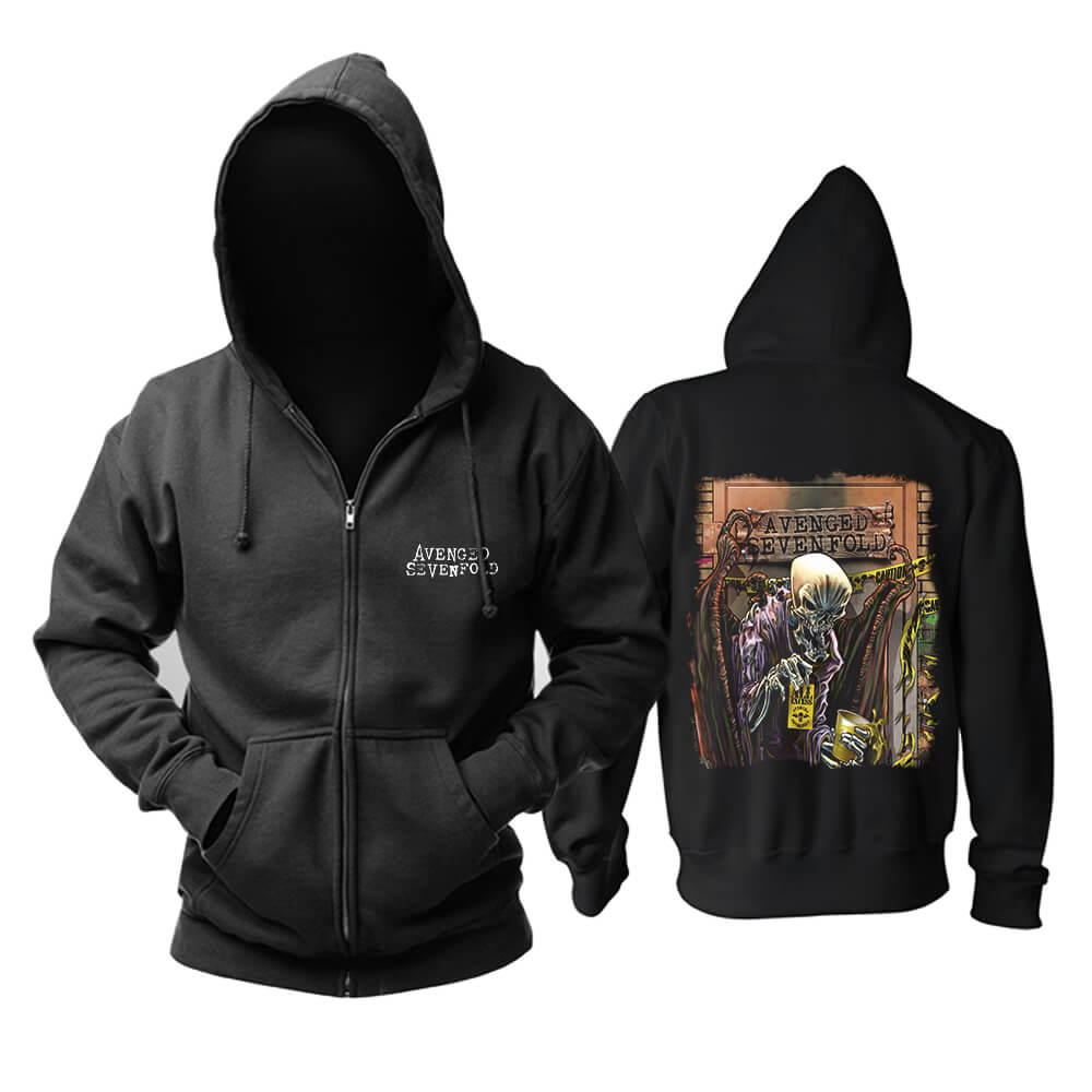 Hoodie Hard Rock Metal Music Band Sweatshirts