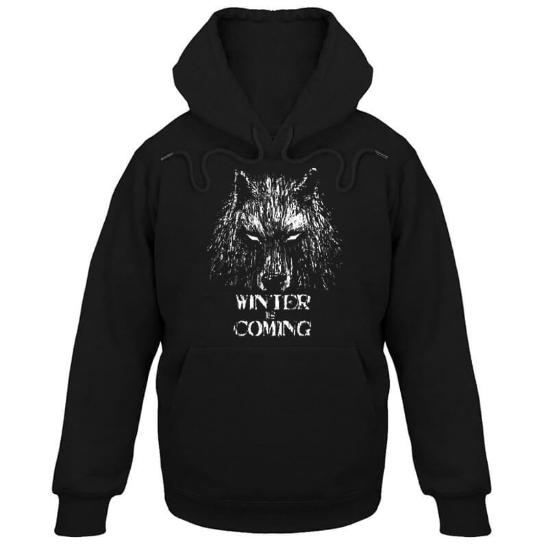 House Stark Winter Is Coming Hoodie Game Of Thrones