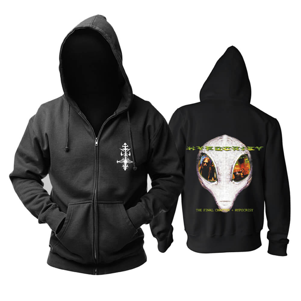 Hypocrisy Hooded Sweatshirts Sweden Metal Punk Band Hoodie