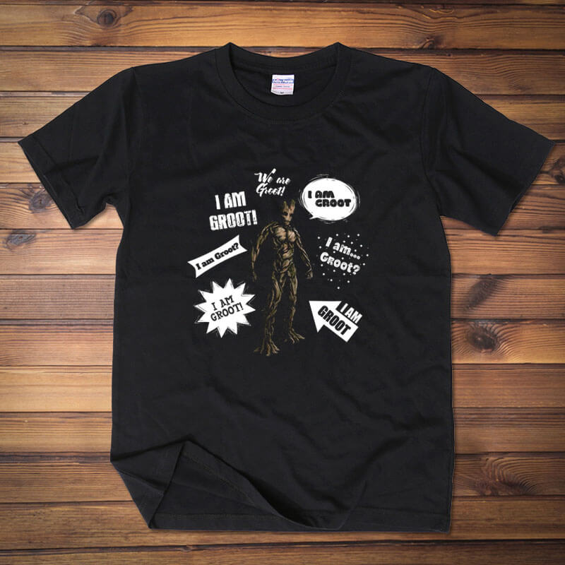 I am Groot Tee Guardians Of The Galaxy 2 T-shirt for Men