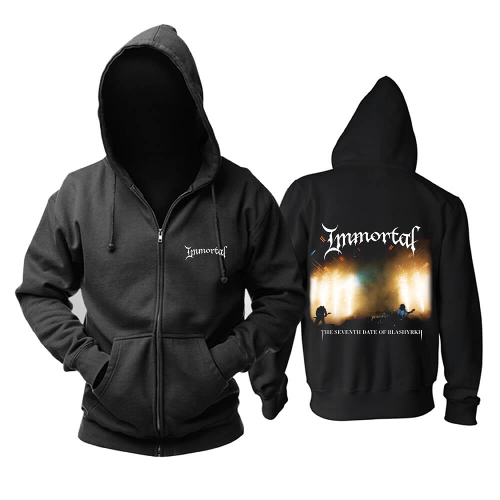 Immortal Hoody Norway Metal Punk Rock Hoodie