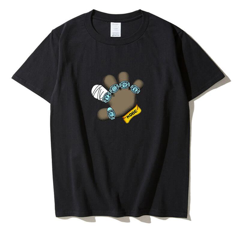 Kobe Finger Design T Shirt