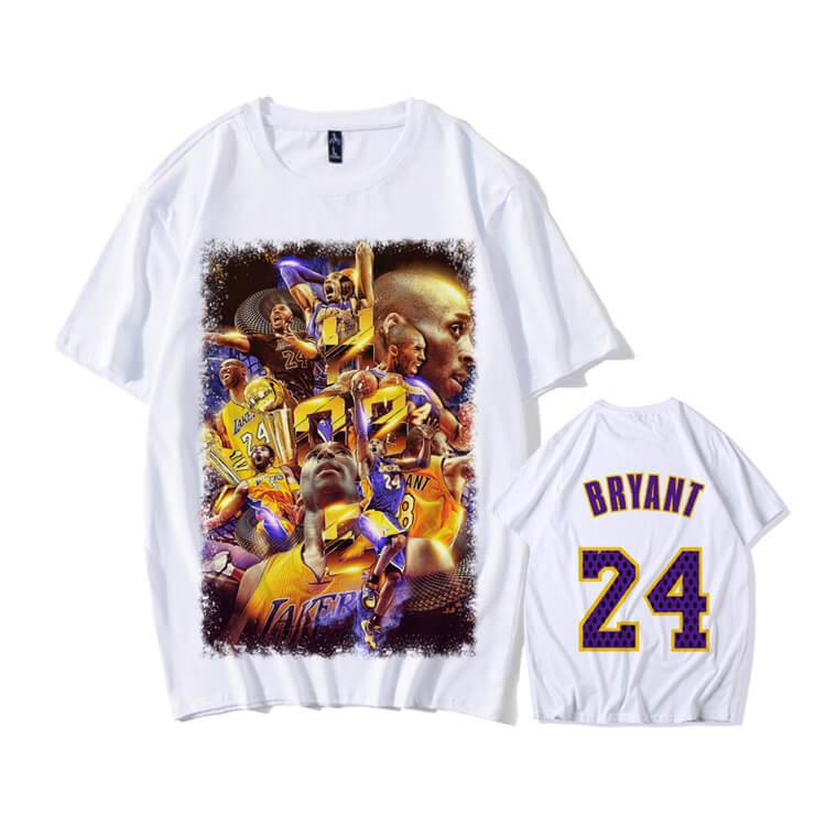 Lakers T Shirt NBA Kobe Tee