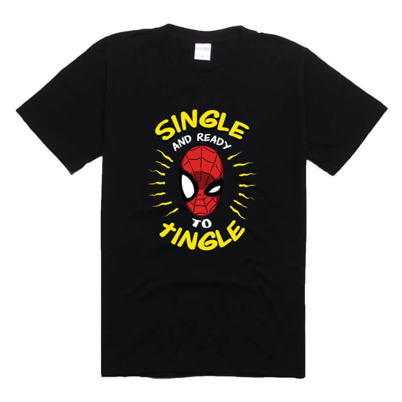 Lovely Spiderman t-shirt Peter Benjamin Parker Tee