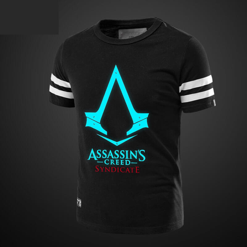 Luminous Assassin Syndicate Men Tshirt