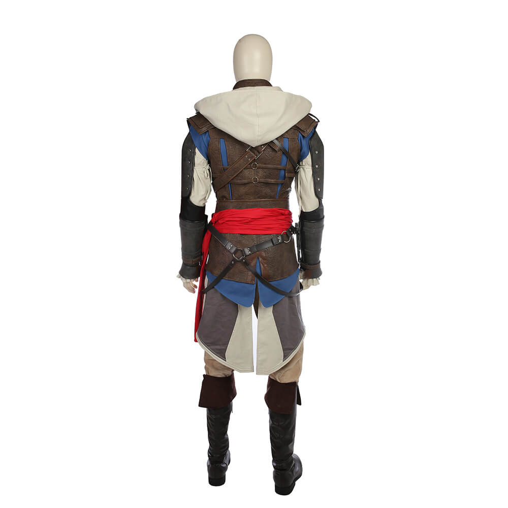 Assassin's Creed 4 Halloween Costume Edward James Kenway Cosplay Costume