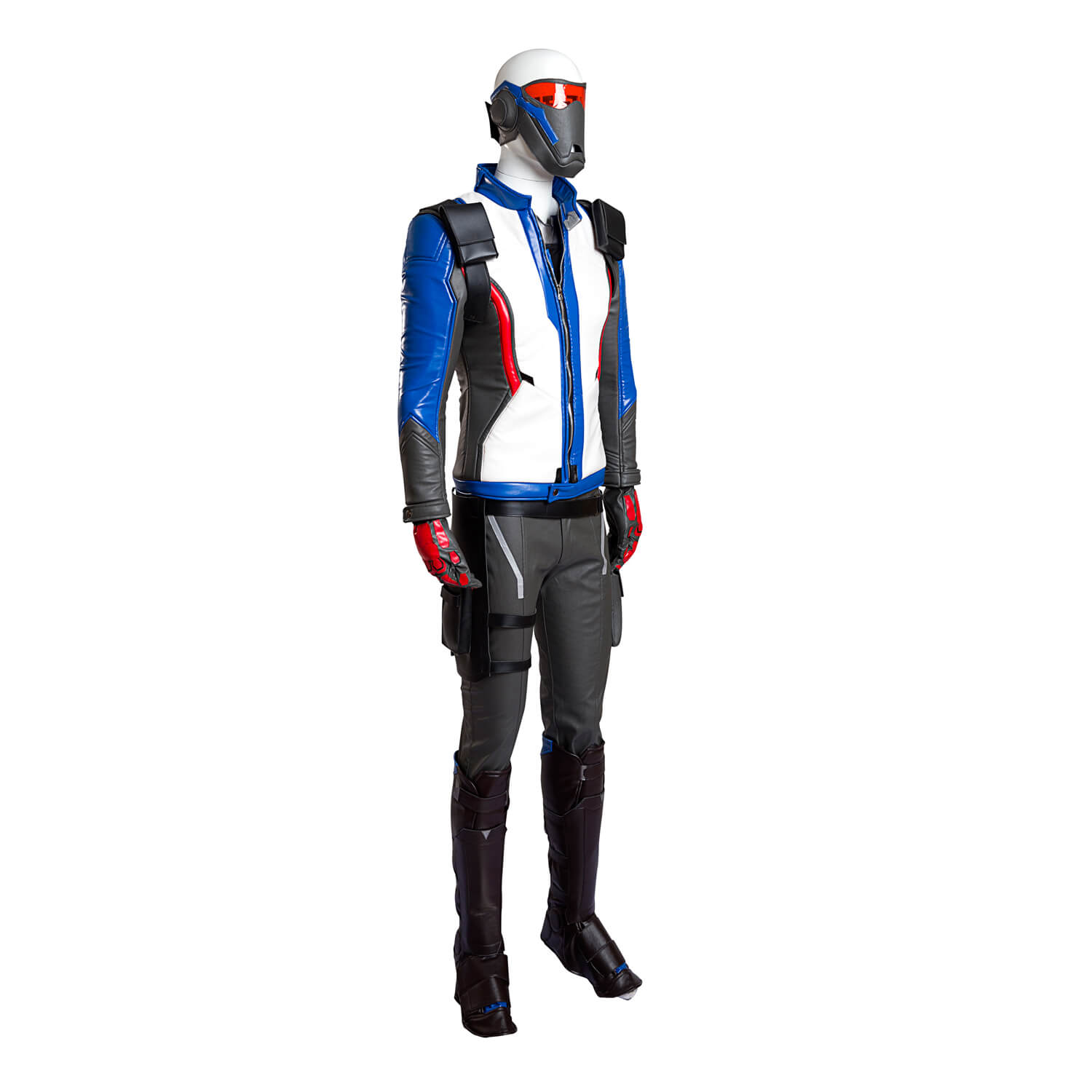 Quality Overwatch Soldiers 76 Halloween Cosplay Costume Soldier76 Jacket