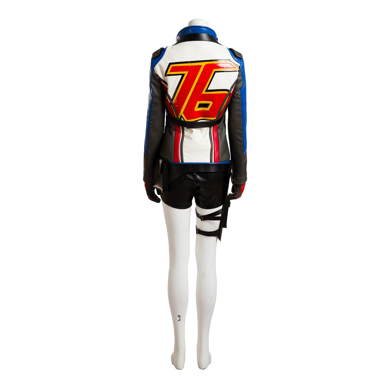 Overwatch Soldiers 76 Cosplay Costume OW Soldier76 Jackets for Women
