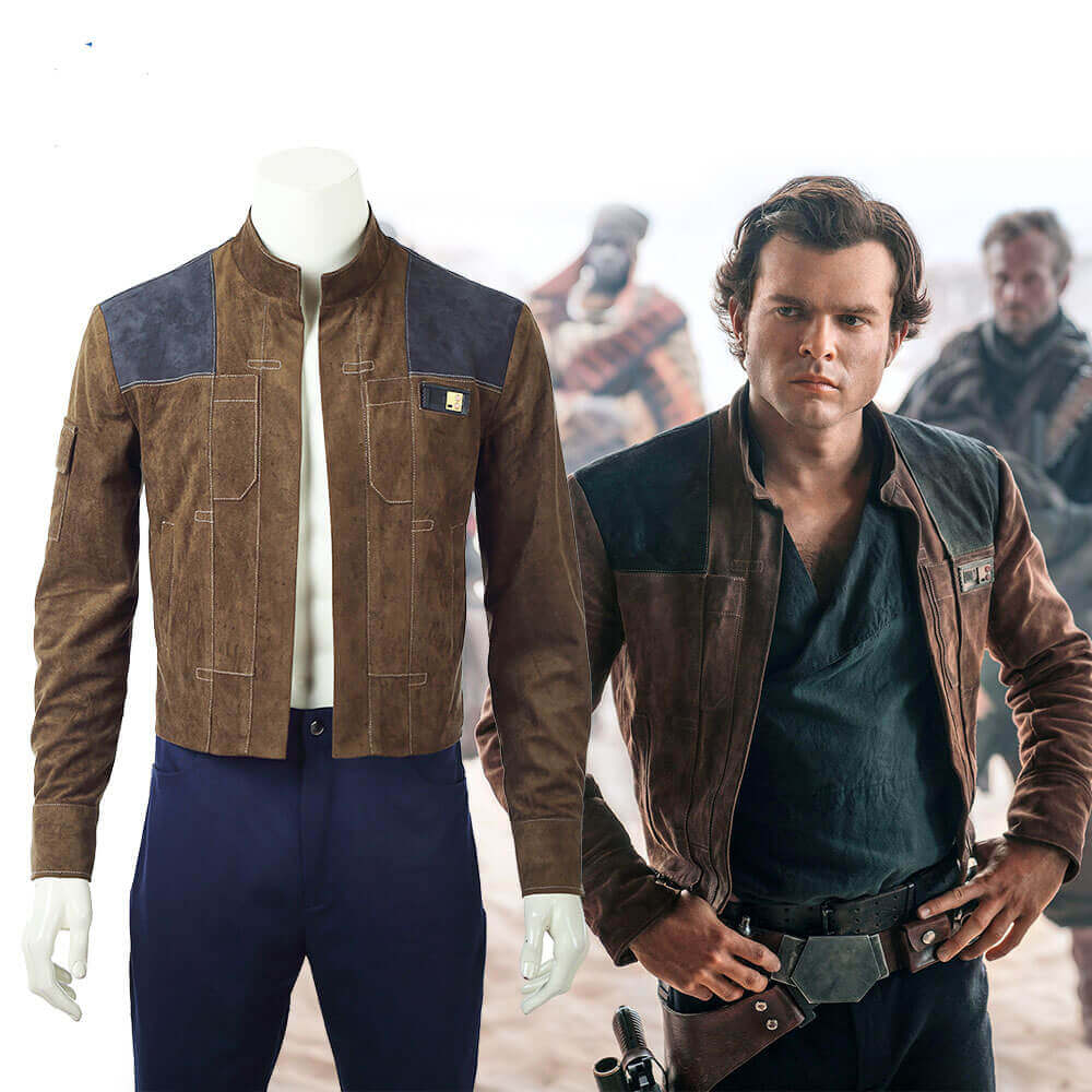 Movie Han Solo Jacket Star Wars Story Cosplay