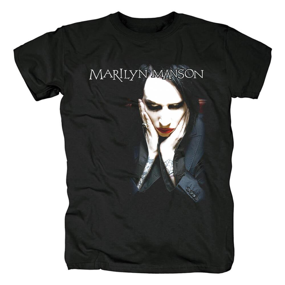 Marilyn Manson Band Tees Us Metal T-Shirt
