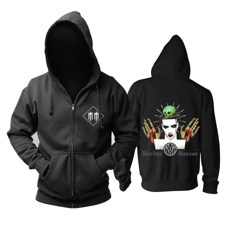 Marilyn Manson Hoody United States Metal Rock Band Hoodie
