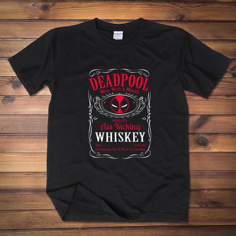 Marvel Comics Deadpool Logo T Shirts