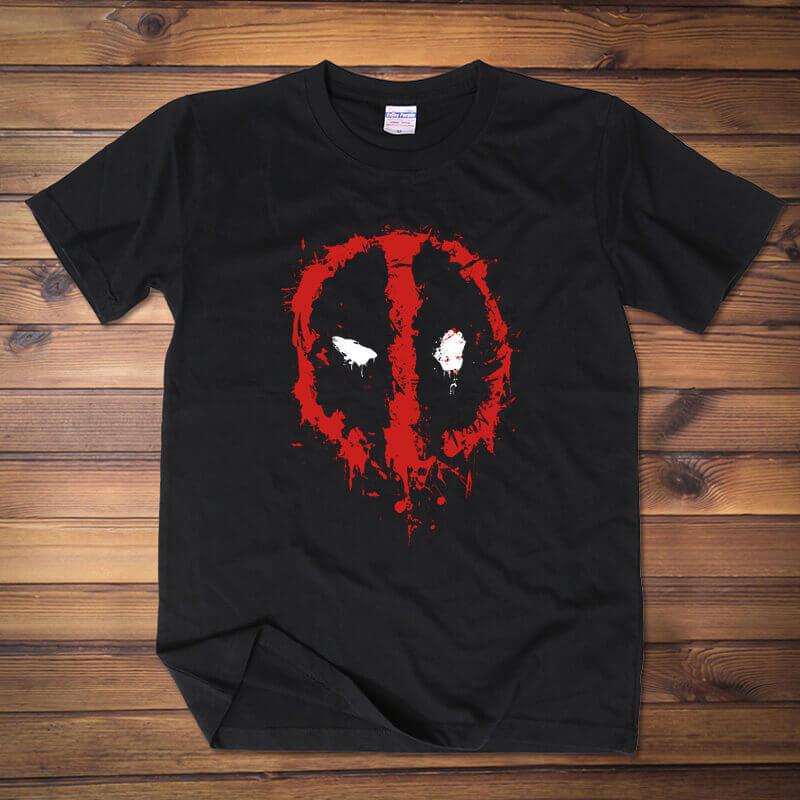 Marvel Deadpool Logo T Shirts