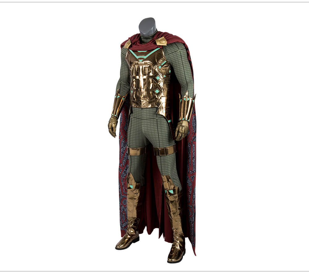 Marvel SpiderMan Mysterio Cosplay Costume