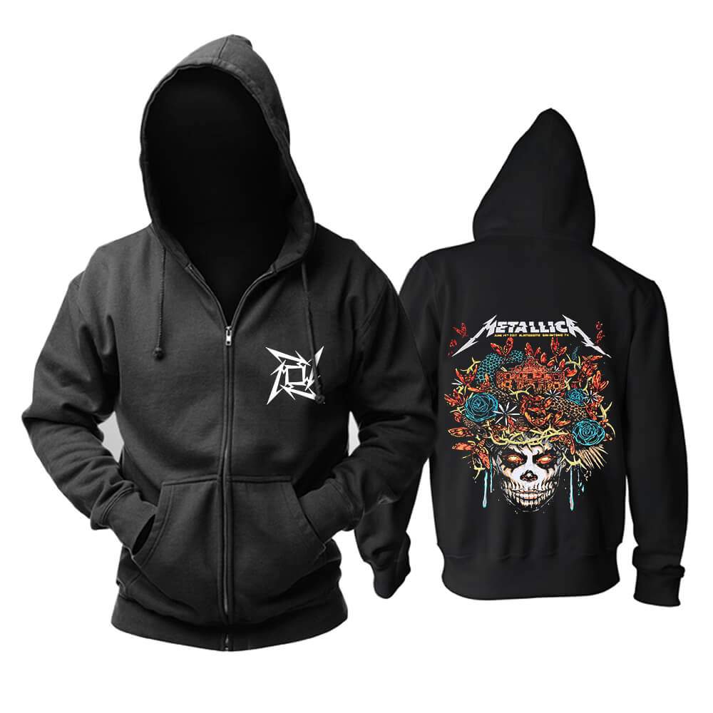 Metallica Hooded Sweatshirts Us Metal Rock Band Hoodie